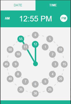 Input Datetimepickers - Mitch Valenta